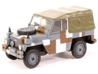 1:43 LAND ROVER Series III 1/2 Ton Lightweight с тентом Berlin camouflage Scheme 1972