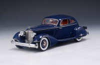 1:43 PACKARD Twelve 1107 LeBaron Aero Coupe 1934 Blue