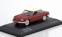 1:43 PANHARD 24 BT 1964 Dark Red/Beige