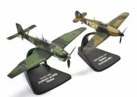 """1:72 набор Junkers Ju-87B """"Stuka"""" и Hawker """"Hurricane"""" Mk.I 1940"""