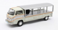 "1:43 VW T2 Pick-up Racetransporter ""PORSCHE"" 1976 White/Grey"