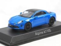 1:43 RENAULT Alpine A110S 2019 Alpine Blue - Carbon roof