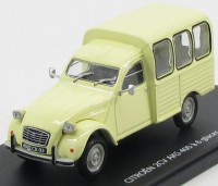1:43 CITROEN 2CV AKS 400 1970 Cream