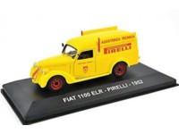 "1:43 FIAT 1100 ELR ""PIRELLI"" 1952 Yellow"