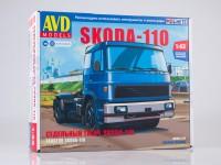 1:43 Сборная модель Skoda-110