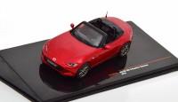 "1:43 MAZDA MX-5 Roadster (ND) ""Автомобиль года"" 2016 Metallic Dark Red"