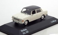 1:43 WARTBURG 353 Saloon 1967 White/Black