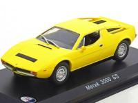 1:43 MASERATI Merak 3000 SS 1972 Yellow