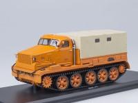 1:43 АТ-Т бортовой с тентом (оранжевый)