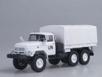 1:43 ЗИЛ-131 бортовой с тентом (6x6) ООН