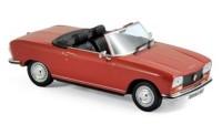 1:43 PEUGEOT 304 Cabriolet S 1973 Red