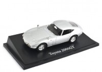 1:43 TOYOTA 2000GT 1967 Silver