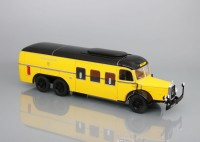 1:43 автобус MERCEDES-BENZ 0 10000 ÖSTERREICHISCHE POST GERMANY 1938 Yellow/Black