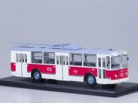 1:43 ЗИУ-682Б Мосгорстранс музейный (рабочие штанги), красно-белый