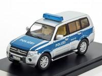 "1:43 MITSUBISHI Pajero ""POLIZEI"" (Полиция Германии) 2012"