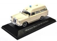 1:43 MERCEDES-BENZ 230 (W110) BINZ Ambulance (медицинская помощь) 1967 Beige