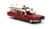 1:43 CADILLAC S&S Аmbulance Fire Rescue  (пожарная медицинская помощь) 1966