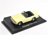 1:43 TRIUMPH TR6 1970 Light Yellow