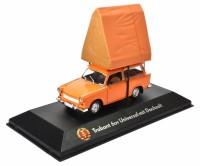 1:43 TRABANT 601 Universal с палаткой  1980 Orange