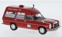 "1:43 MERCEDES-BENZ 220 D (W115) BINZ ""Feuer Ambulance"" (пожарная медицинская помощь)"