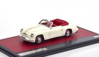 1:43 ALFA ROMEO 6C 2500 Ghia Convertible (открытый) 1947 White