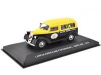 """1:43 LANCIA ARDEA 800 FURGONCINO """"BINACRIN"""" 1949 Yellow/Black"""