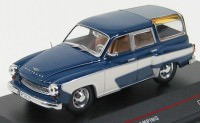 1:43 WARTBURG 311 CAMPING 1957 Dark Blue and Cream
