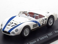 1:43 MASERATI 200 SI #27 Reventlow/Pollack 12 Hours of Sebring 1957