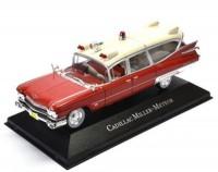 1:43 CADILLAC Miller Meteor Ambulance (скорая медицинская помощь) 1959