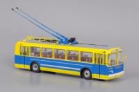 1:43 ЗИУ 5 Музейный, жёлто-синий