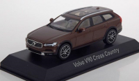 1:43 VOLVO V90 Cross Country 2017 Maple Brown