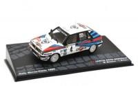 "1:43 LANCIA Delta HF Integrale ""MARTINI"" #4 M.Biasion/T.Siviero победитель Rally Monte-Carlo Чемпион мира 1989"