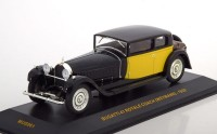 1:43 BUGATTI 41 Royale Coach Weymann 1929 Black/Yellow