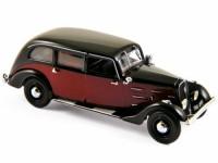 1:43 PEUGEOT 401 Longue Taxi 1935 Dark Red/Black