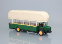 1:43 автобус RENAULT TN4F (gas) FRANCE 1940 Beige/Green