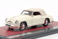 1:43 ALFA ROMEO 6C 2500 Ghia Convertible (закрытый) 1947 White