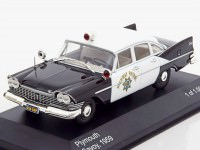 "1:43 PLYMOUTH Savoy ""California Highway Patrol"" 1959"