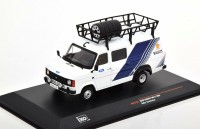 "1:43 FORD Transit Mk.II техничка ""Team Ford Motor Sport "" с багажником и колесами на крыше 1986"
