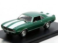1:43 CHEVROLET Camaro RS 1969 Metallic Green/White