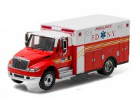 "1:64 INTERNATIONAL Durastar Ambulance ""FDNY"" (Fire Department of New York) 2013"