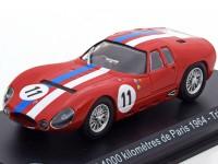 1:43 MASERATI Tipo 151/3 #11 Trintignant/Simon 1000 Kilomètres de Paris 1964