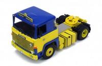 """1:43 седельный тягач SCANIA LBT141 """"ASG"""" 1976 Yellow/Blue"""