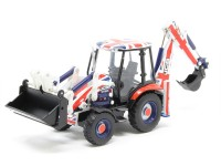 "1:76 экскаватор JCB 3CX Eco Backhoe ""Union Jack Livery"" 2018"