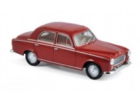 1:43 PEUGEOT 403 Berline (седан) 1963 Rubis Red