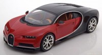 1:18 BUGATTI Chiron 2016 Red/Black