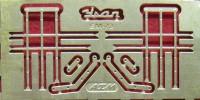1:43 набор фототравления решетки фар Уральский грузовик 375