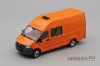 1:43 ГАЗель Next A32R32 грузопассажирская, оранжевый
