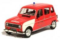 """1:43 RENAULT 4L """"SDIS"""" de la Vendée с фигуркой в подарочной коробке (пожарно-спасательный) 1970"""