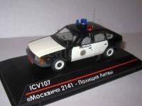 1:43 Москвич-2141 Полиция Литвы