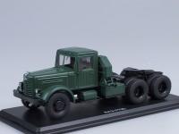 1:43 ЯАЗ-210Д седельный тягач, зеленый